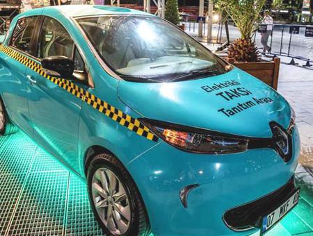 Estambul taxi electrico zoe
