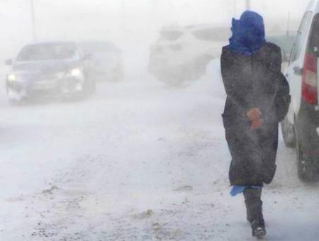 Nevadas nieve temporal turquia