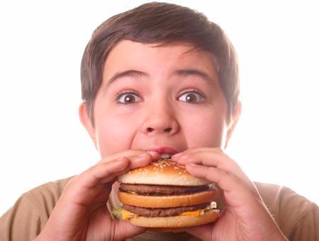Obesidad infantil sobrepeso alimentacion