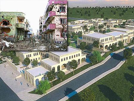 Reconstruccion casas terrorismo sureste