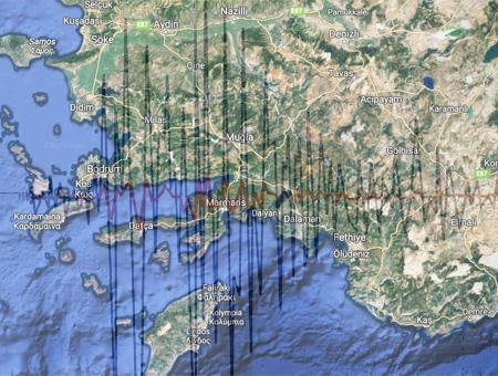 Terremoto egeo sur turquia