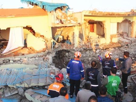 Adiyaman terremoto seismo destruccion
