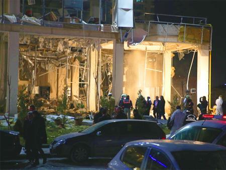 Ankara explosion edificio cukurambar