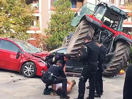 Ankara tractor ataque embajada