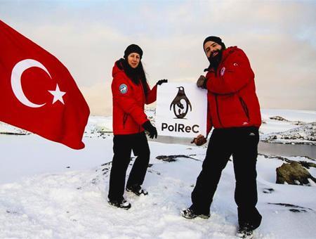 Antartida cientificos turcos polrec