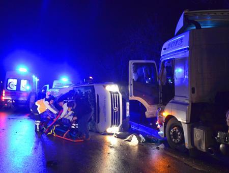 Canakkale accidente autobus