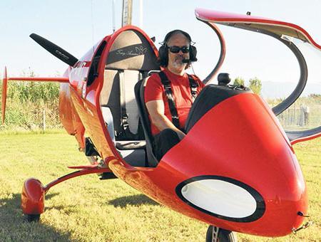 Denizli autogiro girocoptero aerotaxi