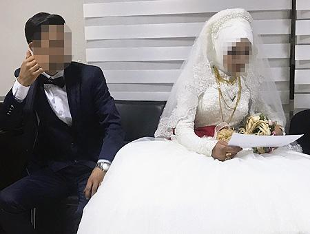 Diyarbakir boda infantil menor