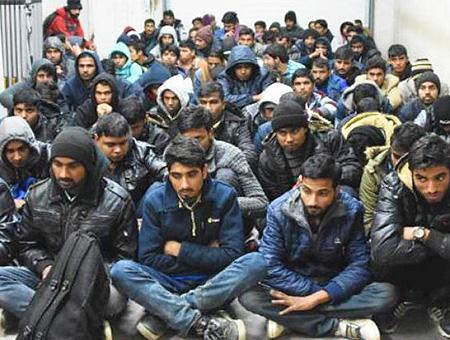 Edirne inmigrantes ilegales