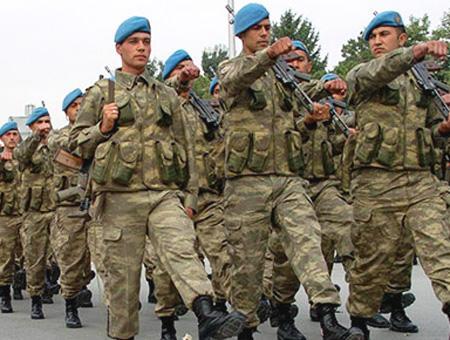 Ejercito turco soldados mili