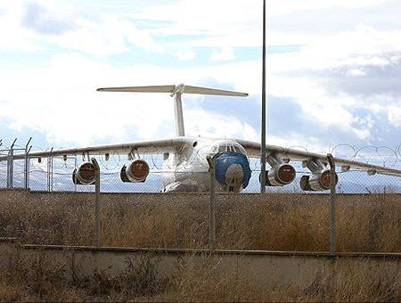 Erzurum avion georgia abandonado