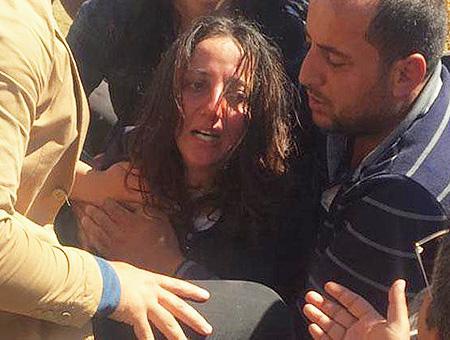 Erzurum mujer desaparecida bosque