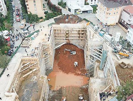 Estambul accidente obras metro
