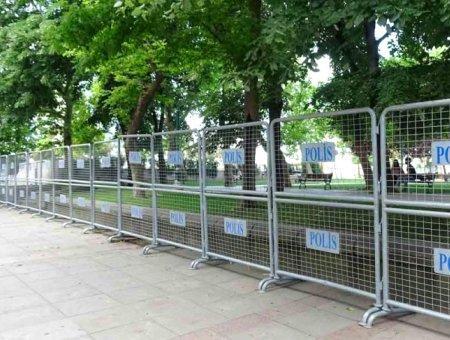 Estambul gezi park vallado