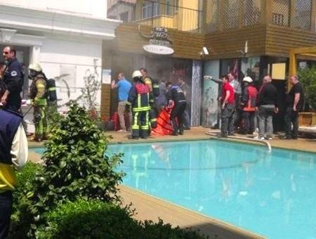 Estambul incendio hotel spa