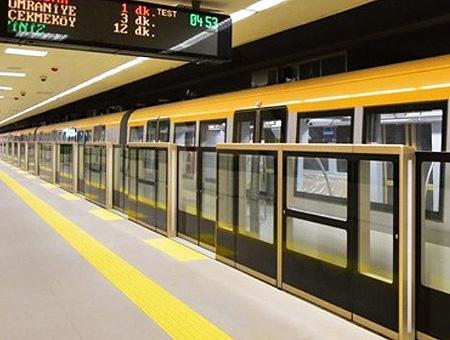 Estambul linea m5 metro