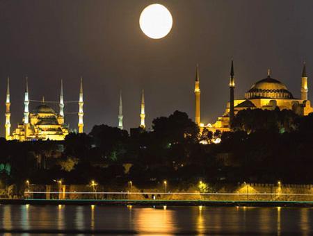 Turquía celebra el fin del Ramadán