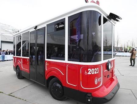 Estambul vehiculo electrico autonomo