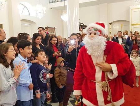Hatay cristianos navidad papa noel