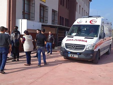 Izmir explosion colegio
