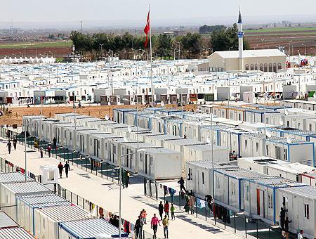 Kilis campo refugiados sirios