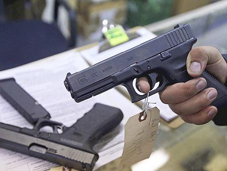 Pistola armas fuego privadas