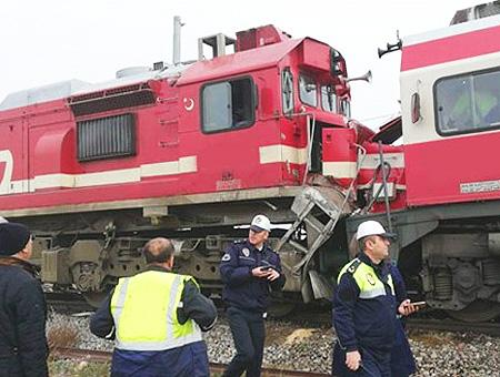 Sivas accidente choque trenes