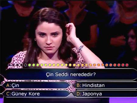 Television concurso pregunta china