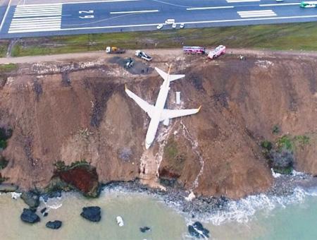 Trabzon aeropuerto accidente aereo