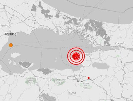 Yalova terremoto marmara