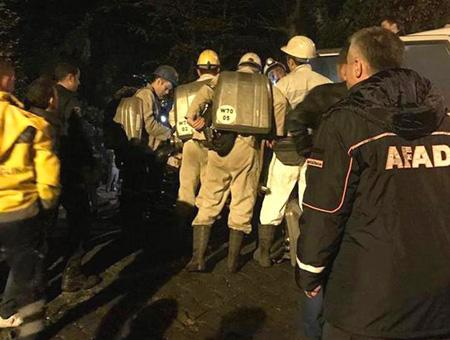 Zonguldak accidente mina carbon