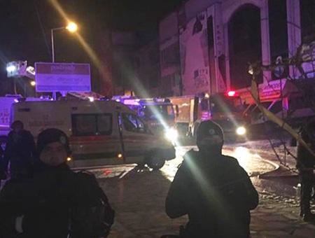 Ankara incendio fabrica