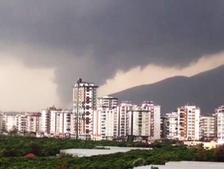 Antalya tornado clima