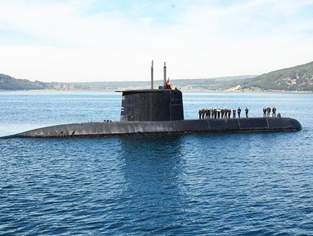 Canakkale homenaje submarino dulumpinar