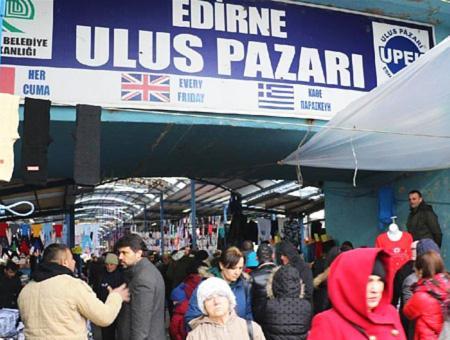 Edirne mercado bazar