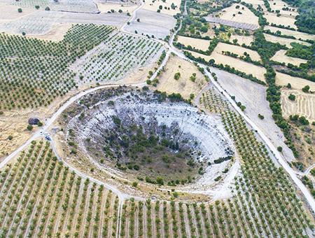 Elazig crater gigante meteorito