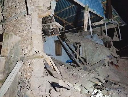 Elazig terremoto edificio derrumbado