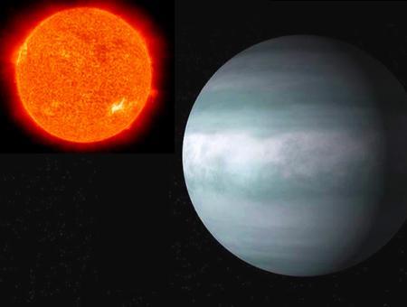 Espacio estrella wasp52 anadolu planeta