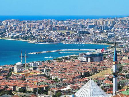 Imagen del distrito de Büyükçekmece, situado a las afueras del lado europeo de Estambul