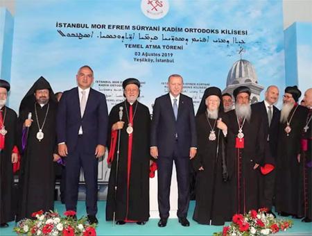Estambul ceremonia nueva iglesia siriaca