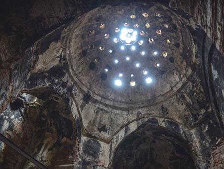 Estambul haman otomano abandonado