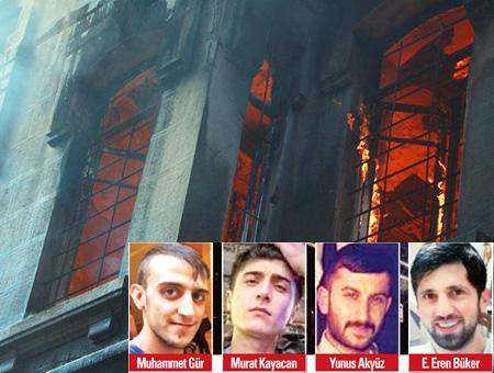 Estambul muertos incendio beyoglu