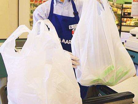Medioambiente supermercado bolsas plastico