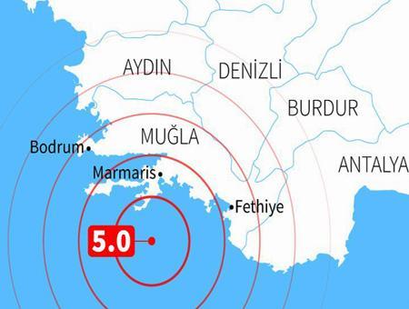 Mugla terremoto seismo egeo