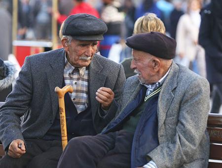Población mayores tercera edad
