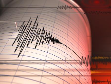 Terremoto seismo temblor sismografo