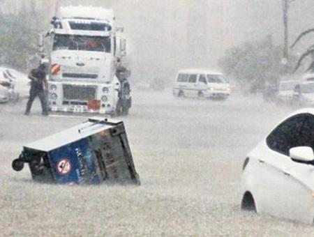 Turquia lluvias tormentas inundaciones