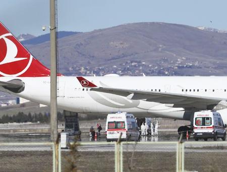 Ankara avion iran coronavirus