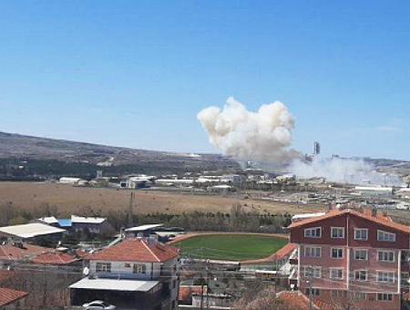 Ankara explosion fabrica misiles