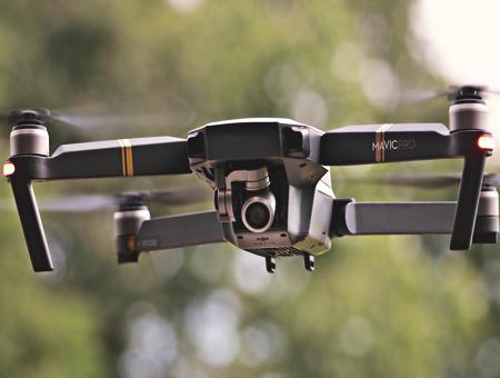 Dron drones uav